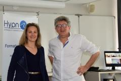 Laurence ADJADJ et Laurent GROSS Formation EMDR - IMO à Marseille et Paris